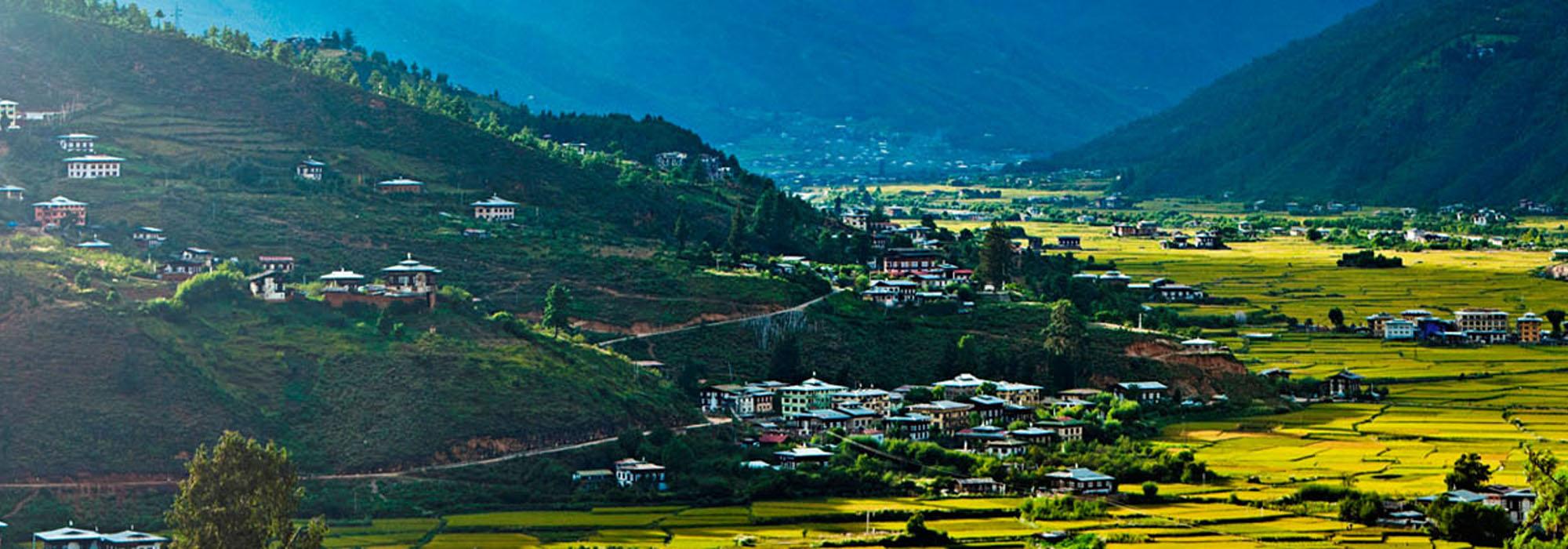 Landscape of Bhutan