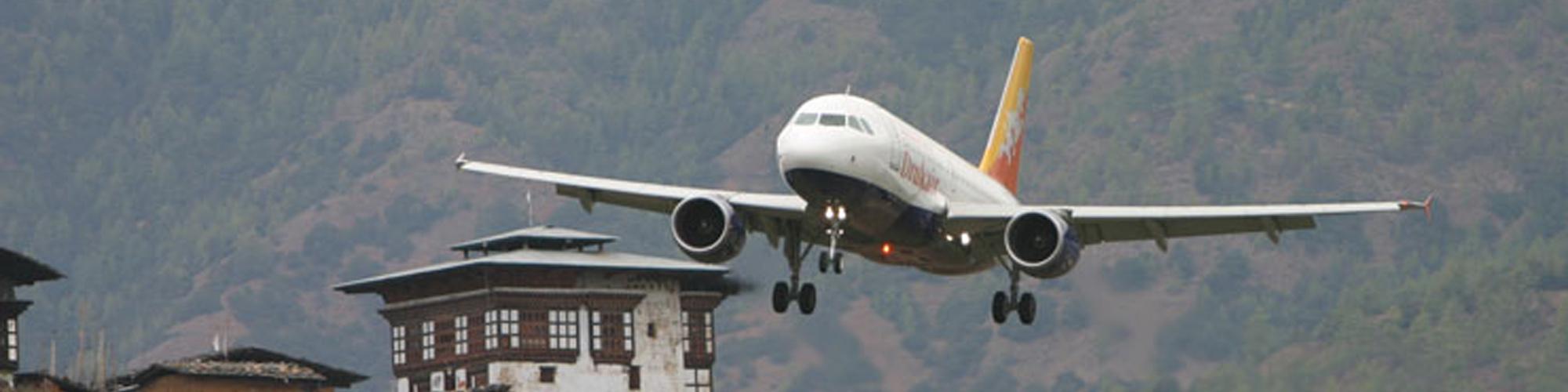 Getting to Bhutan